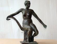 Vrouw op Stoel